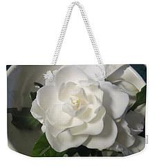 Gardenia Bowl Weekender Tote Bag