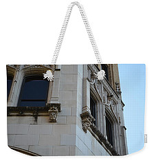 Weekender Tote Bag featuring the photograph Gargoyles by Shawn Marlow