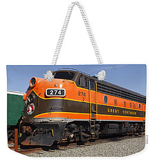 Garibaldi Locomotive Weekender Tote Bag by Wes and Dotty Weber