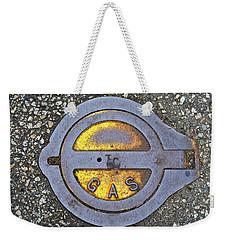 Gas Cap Weekender Tote Bag by Ethna Gillespie
