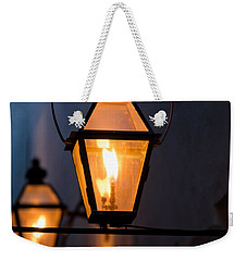 Gas Lights Weekender Tote Bag