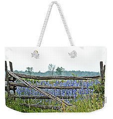 Gate To Blue Weekender Tote Bag by Cheryl Baxter