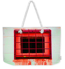 Weekender Tote Bag featuring the photograph Gated Community by Christiane Hellner-OBrien