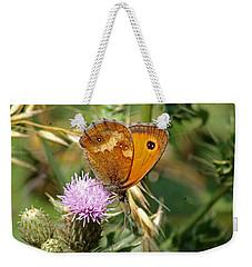 Gatekeeper Butterfly Weekender Tote Bag