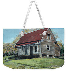 Gates Chapel - Ellijay Ga - Old Homestead Weekender Tote Bag