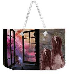 Gates Of Heaven-regarder La Fin Du Monde Weekender Tote Bag
