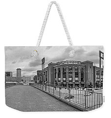 Gateway To Busch Black And White Weekender Tote Bag