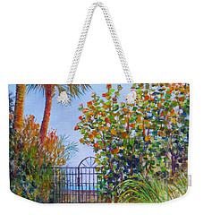 Gateway To Paradise Weekender Tote Bag by Lou Ann Bagnall