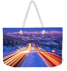 Gateway To The Rockies Weekender Tote Bag