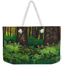 Gathering Among The Ferns Weekender Tote Bag