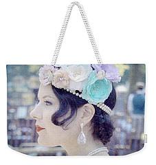 Gatsby Girl  Weekender Tote Bag