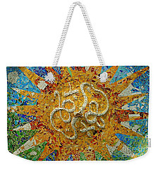 Weekender Tote Bag featuring the photograph Gaudi Art by Mariusz Czajkowski
