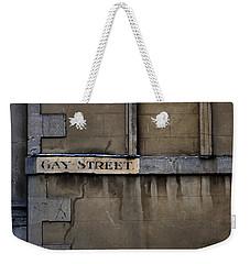 Gay Street Denise Dube Weekender Tote Bag