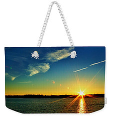 Gc Lake Sunrise Weekender Tote Bag