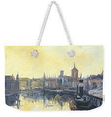 Gdansk Harbour - Poland Weekender Tote Bag