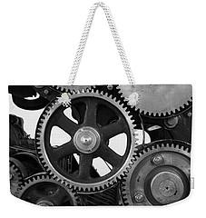 Gear Drive Weekender Tote Bag