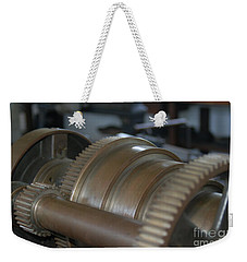 Gears Of Progress Weekender Tote Bag