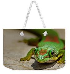 Gecko Portrait Weekender Tote Bag
