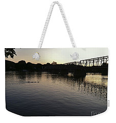 Geese Going Places Weekender Tote Bag