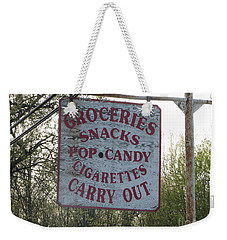 Weekender Tote Bag featuring the photograph General Store by Michael Krek