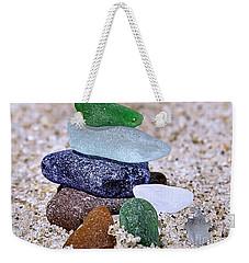 Genuine Sea Glass Weekender Tote Bag