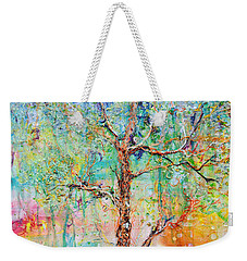 Genome Weekender Tote Bag by Regina Valluzzi