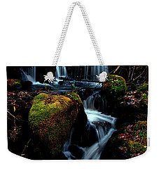 Weekender Tote Bag featuring the photograph Gentle Descent by Jeremy Rhoades