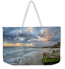 Gentle Sunset Weekender Tote Bag