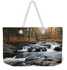 Gently Falling Downstream  Weekender Tote Bag