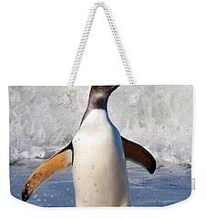 Gentoo Ashore Weekender Tote Bag by David Beebe