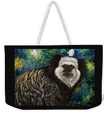 Geoffrey's Marmoset Weekender Tote Bag by Sandra LaFaut