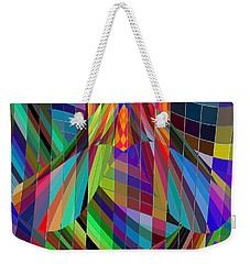 Geometric Alien Fly Weekender Tote Bag