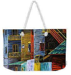 Geometric Colours I Weekender Tote Bag