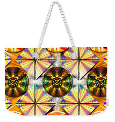 Geometric Dreamland Weekender Tote Bag