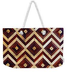 Geometric Inlay Design Weekender Tote Bag