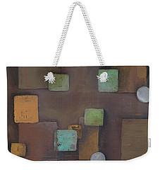 'geometric' Weekender Tote Bag