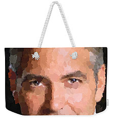 George Clooney Portrait Weekender Tote Bag
