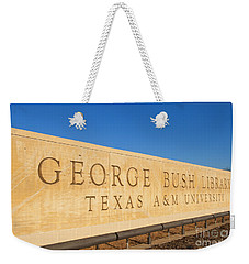 George H. Bush Library, Texas Weekender Tote Bag