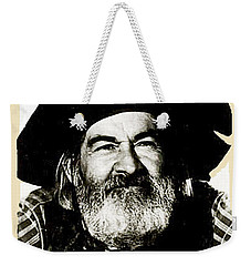 George Hayes Portrait #1 Card Weekender Tote Bag by David Lee Guss