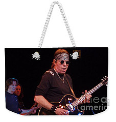 Weekender Tote Bag featuring the photograph George Thorogood by John Telfer