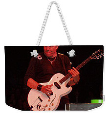 Weekender Tote Bag featuring the photograph George Thorogood Performing by John Telfer