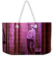 George Washington At The National Cathedral Weekender Tote Bag