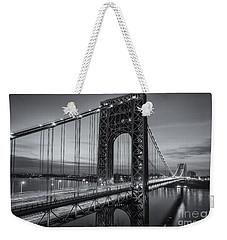 George Washington Bridge Morning Twilight II Weekender Tote Bag