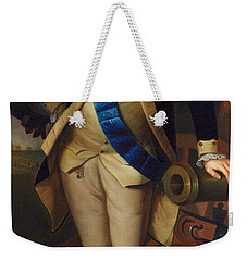 George Washington Weekender Tote Bag by Charles Wilson Peale