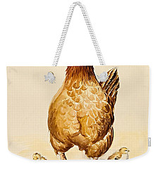 George's Hen And Her Chicks Weekender Tote Bag