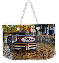 Georgetown Barge Weekender Tote Bag