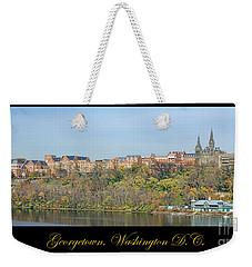 Georgetown Poster Weekender Tote Bag