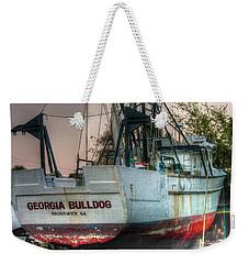 Georgia Bulldog Weekender Tote Bag