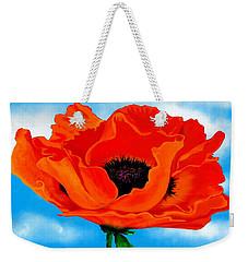 Georgia In The Sky Weekender Tote Bag