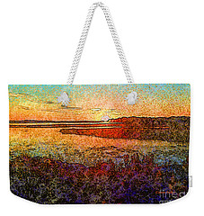 Georgian Bay Sunset Weekender Tote Bag